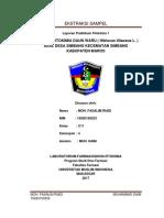 laporan ekstraksi sampel