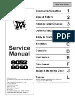 JCB 8052 MIDI EXCAVATOR Service Repair Manual SN802000-803999.pdf