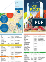 Cavalaire - Guide Des Sports 2017-2018