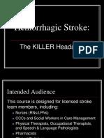 Hemorrhagic Stroke CBL