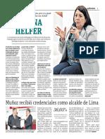 Susana Helfer, No Se Puede Homosexualizar a Un Niño, Pero Sí Se Puede Criar Jóvenes Violentos Que Señalan Con El Dedo