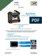 SyncScan Brochure f
