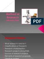 Intro Research