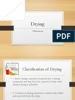 Drying Reviewer