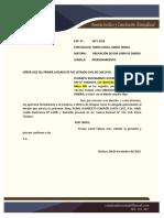 Escrito APERSONAMIENTO EN JUZGADO CIVIL - DEUDA POR SUMA DE DINERO