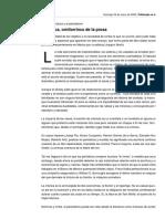 VILLORO La Crónica, Ornitorrinco de La Prosa