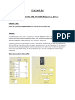 Lab # 4 Introduction to VFD