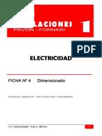 Eléctricas Ficha 4 Dimensionado