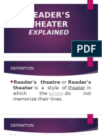 Reader's Theater Explained