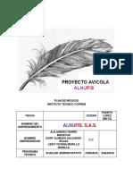 Plan de Negocio Avicola