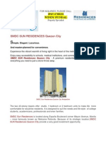 SM Development Corporation SUN Residences