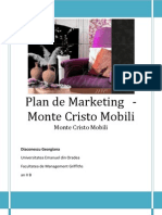 Marketing Plan (Monte Cristo Mobili)