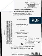 DEVELOPMENT OF A HIGH-PERFORMANCE COAL-FIRED POWER GENERATING SYSTEM