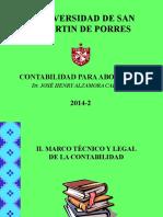 UNIDI.2-MARCO-TECNICO-Y-LEGAL-2014-2- USMP.ppt