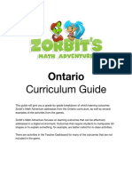 ontario curriculum guide