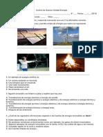 control energía 6° básico
