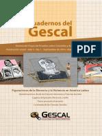 Cuadernos GESCAL 2016 Figuraciones de La Memoria y La Violencia