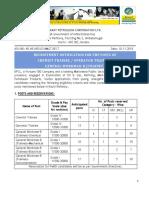 Notification BPCL Chemist Trainee Operator Trainee General Workman Posts