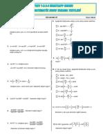 11. Sınıf Matematik Trigonometri Çalışma Yaprağı