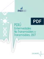Enfermedades No Transmisibles 2017 Inei