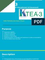 KTEA 3