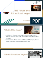 child abuse and educational neglect