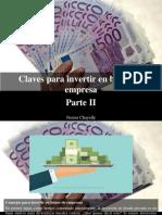 Nestor Chayelle - Claves Para Invertir en Bonos de Empresa, Parte II