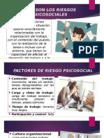 RIESGOS PSICOSOCIALES EN EL ENTORNO LABORAL.