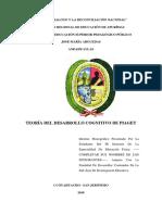 Teoría del desarrollo cognitivo de Piaget