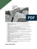 Ejemplos de rocas ígneas.docx