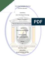 Informe Portafolio Del Estudiante UPNFM