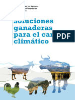 Soluciones Ganaderas Para El Cambio Climático