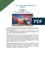 Reglamento de La Facilitación Aduanera Para El Comercio
