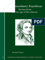 The Transatlantic Republican Thomas Paine and the Age of Revolutions