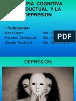 DIAPOSITIVA TCC DEPRESION