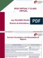 Exposicion Campus Virtual
