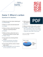 Carbon Cycle Caper Game 1