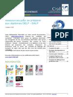 Focus Ressources Preparation Delf Dalf