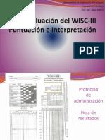 Evaluación Del Wisc-III