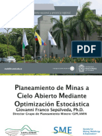 Planeamiento de Minas a Cielo Abierto Mediante Optimización Estocástica