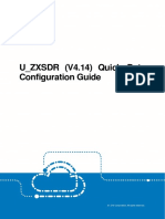 U_ZXSDR(V4.14)Quick Data Configuration Guide