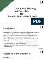Summit Communication Game Plan