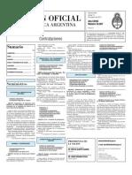Boletin Oficial 14-10-10 - Tercera Seccion