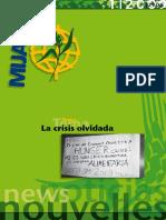 MIJARC Noticias, Boletín 1 Año 2009 (En español)