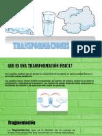 2.3 Transformaciones Fisicas