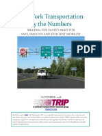 NY Transportation by the Numbers TRIP Report November 2018