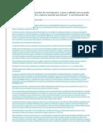 Rezoluţiunea Contractului de Întreţinere. Lipsa Calităţii Procesuale Active Având in Vedere Natura Intuitu Personae a Contractului de Întreţinere