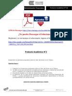 ADMINISTRACIÓN FINANCIERA Producto Académico N°2