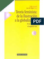 Amorós y Cobo - Feminismo e Ilustración (frag), en Teoría feminista