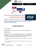 CALCULO III Producto Académico N°2